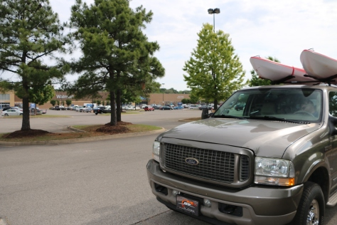 Boondocking at Walmart in Olive Branch