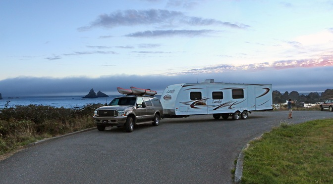 RVing the Oregon Coast on Highway 101
