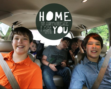 Home is Anywhere I am with YOU!