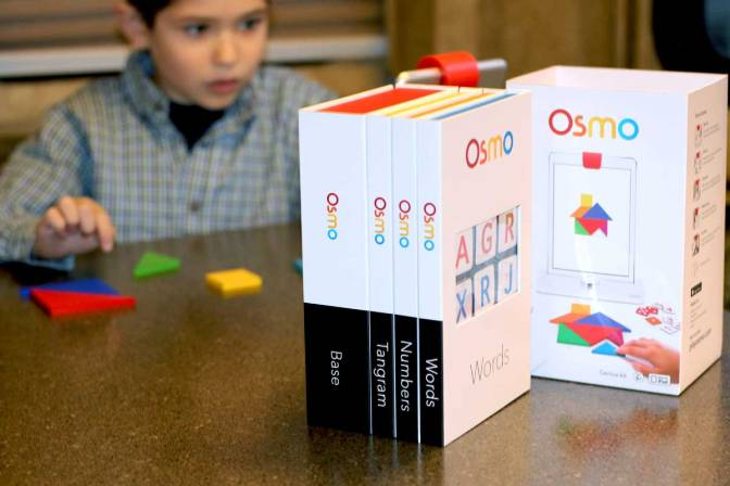 Osmo for iPad: Our kind of travel learning game
