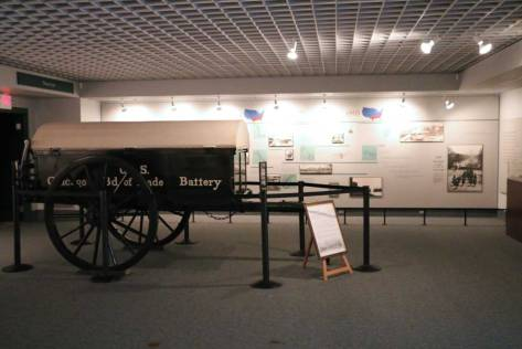 Battery Wagon from the Civil War - Chickamauga