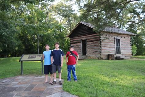 Snodgrass Cabin - Chickamauga Battlefield