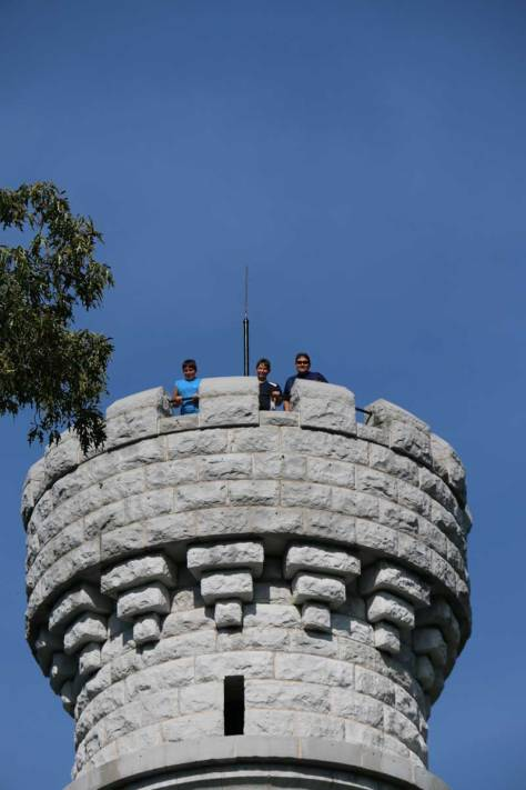 Chickamauga Battlefield Tower Top