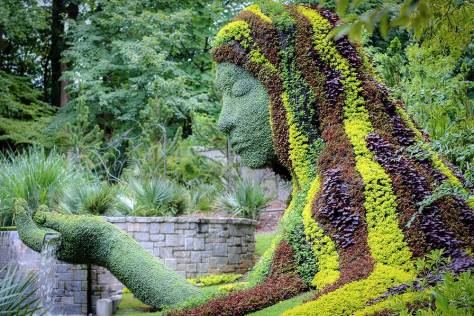 Earth Goddess at The Atlanta Botanical Gardens