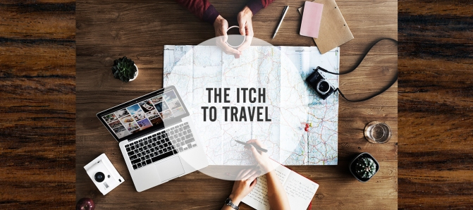 The itch to travel - time to start planning our next trip!